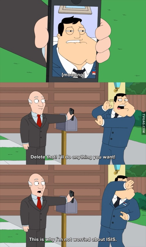 American Dad - I'll do anything you want!