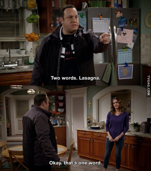 Kevin can wait - Two words