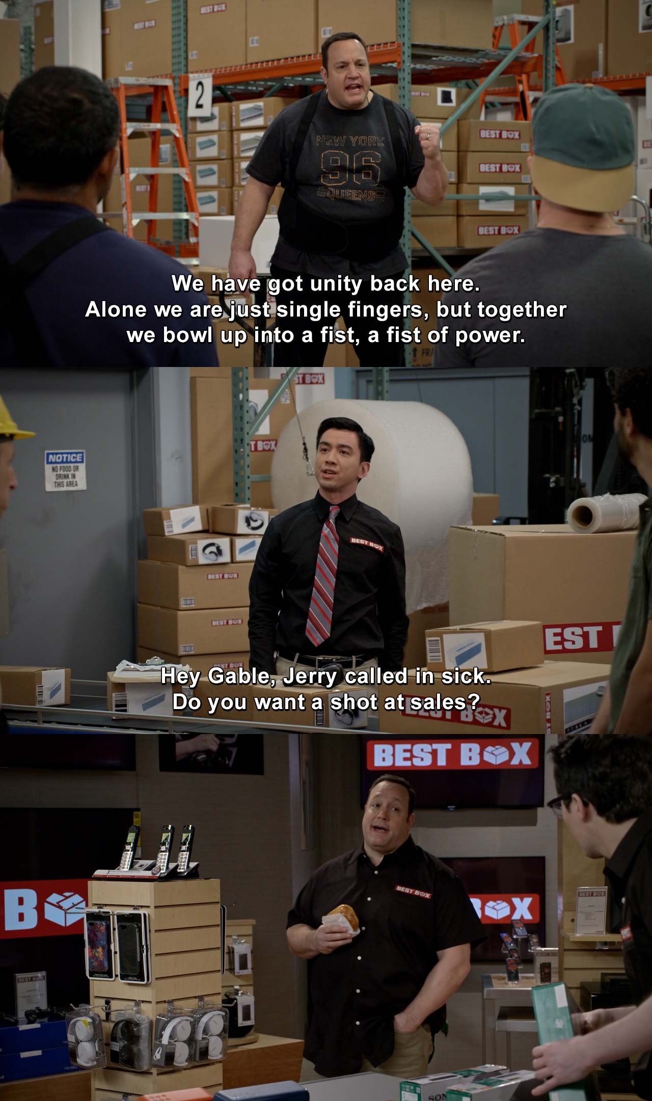 Kevin can wait - We got unity