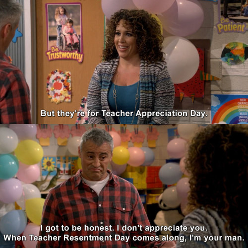 Man with a Plan - Teacher Appreciation Day
