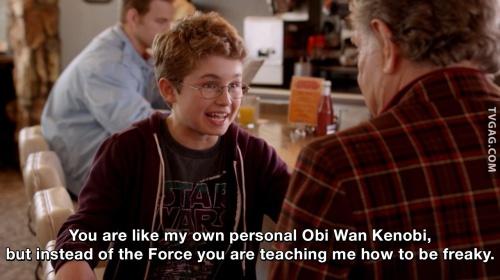 The Goldbergs - You are like my own personal Obi Wan Kenobi