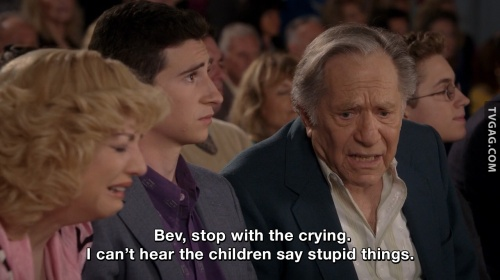 The Goldbergs - Pops always sees things as they are.