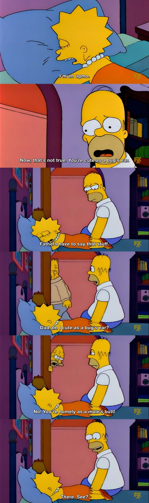 The Simpsons - I'm an ugmo