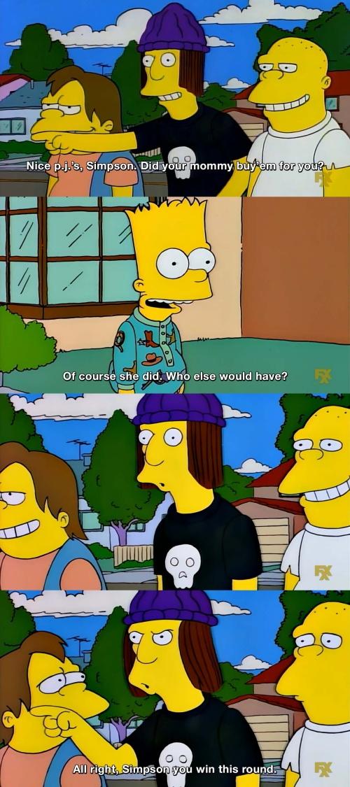 The Simpsons - Nice p.j.s Simpson