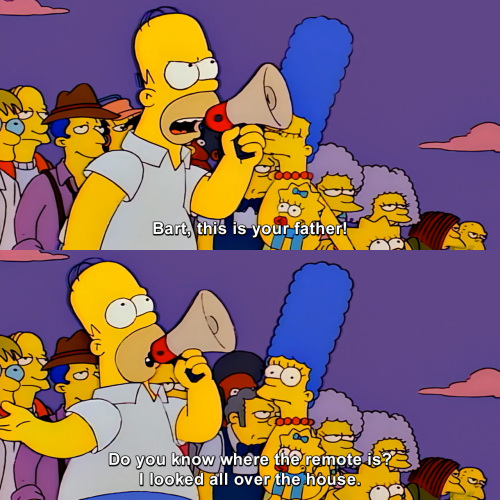 The Simpsons - This is your father!