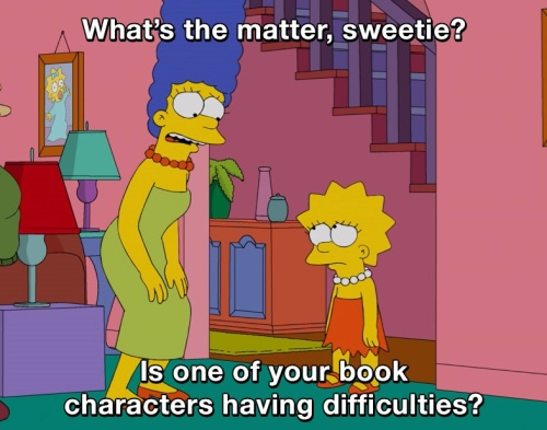 The Simpsons - What's the matter, sweetie?