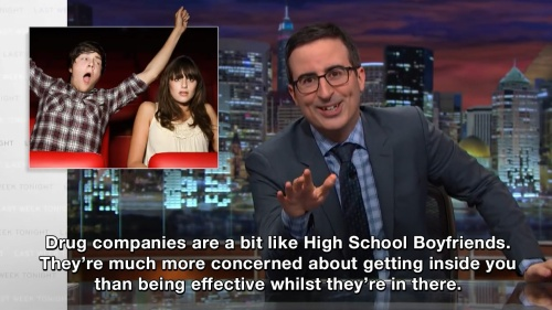 Last Week Tonight with John Oliver - About drug companies