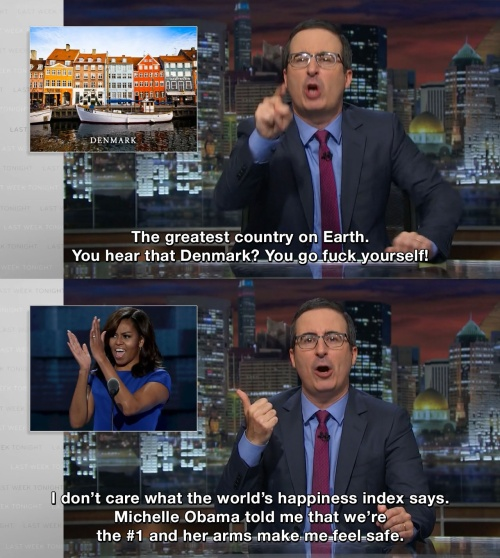 Last Week Tonight with John Oliver - The greatest country on Earth