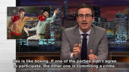 Last Week Tonight with John Oliver - Sex is like boxing