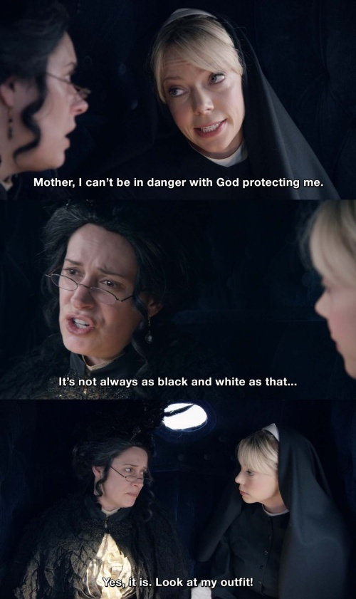 Another Period - It's not always as black and white