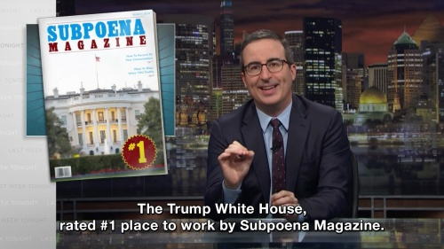 Last Week Tonight with John Oliver - The Trump White House