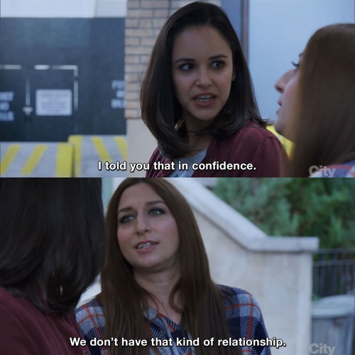 Brooklyn Nine-Nine - I told you that in confidence