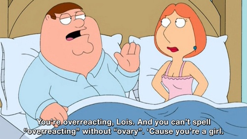 Family Guy - You're overreacting