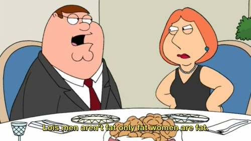 Family Guy - Men aren't fat