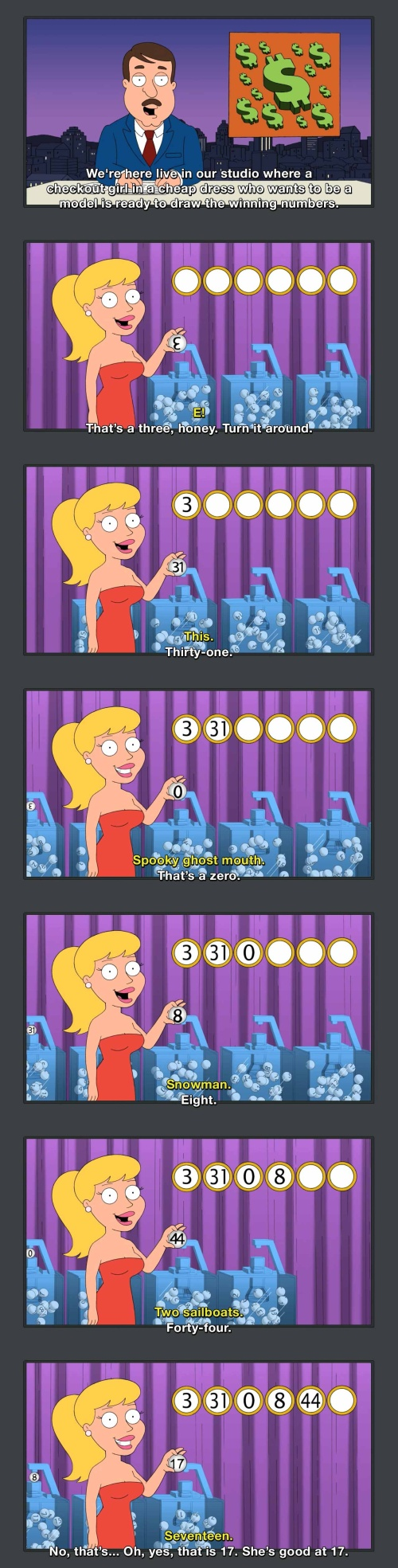 Family Guy - Well, she's pretty