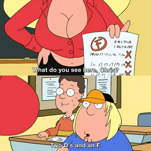 Family Guy - What do you see here