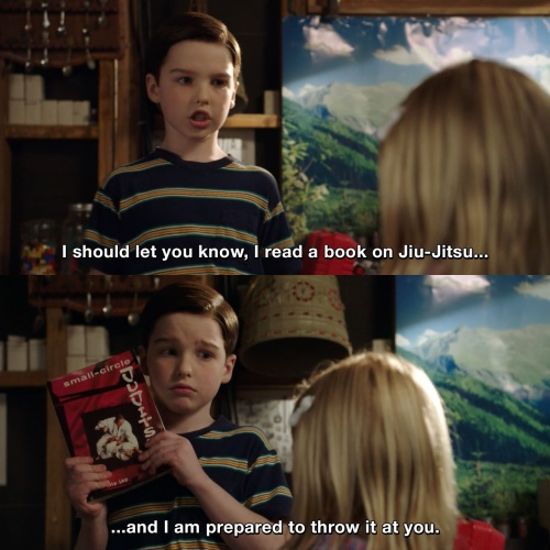 Image result for young sheldon quotes
