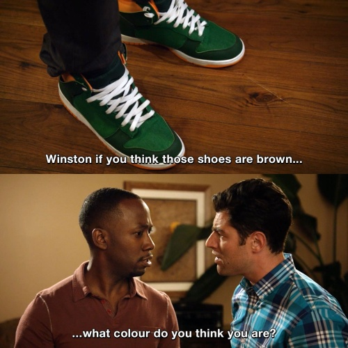 New Girl - What colour do you think you are?