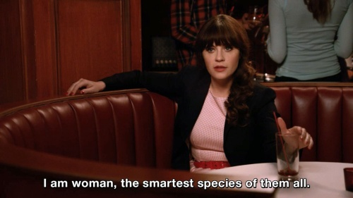New Girl - The smartest species of them all