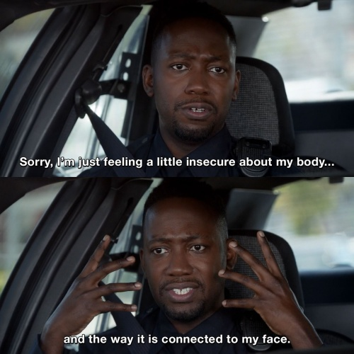 New Girl - Sorry, I'm just feeling a little insecure about my body