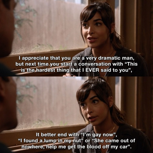 New Girl - I appreciate that you are a very dramatic man