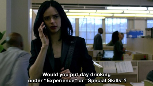 Jessica Jones - My kind of people!