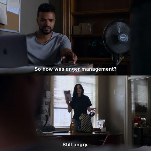 Jessica Jones - Anger management