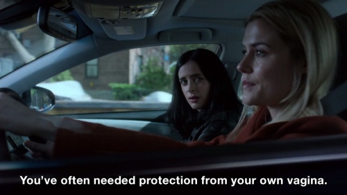 Jessica Jones - Protection from your own vag
