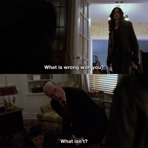 Jessica Jones - What is wrong with you?