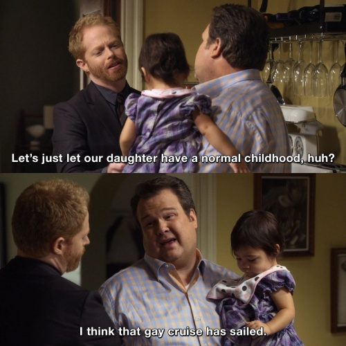 Modern Family - That gay cruise has sailed
