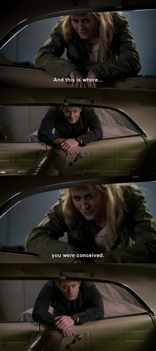 Supernatural - Not in the Impala