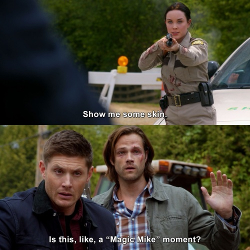 Supernatural - Show me some skin