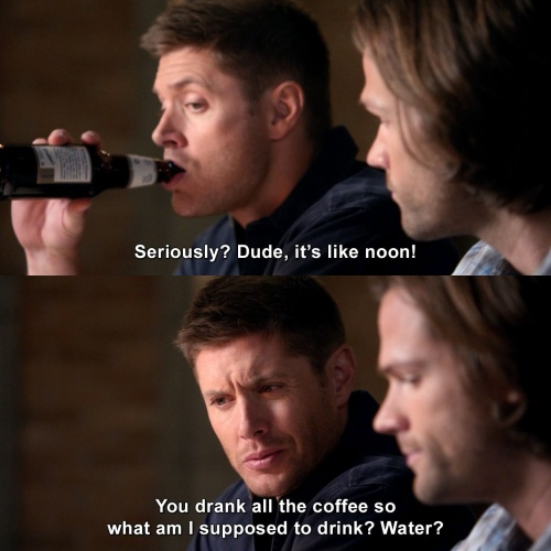Supernatural - Seriously? It's like noon