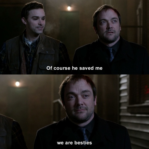 Supernatural - Of course he saved me
