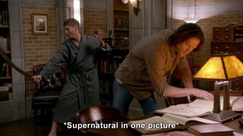 Supernatural - Supernatural in one picture