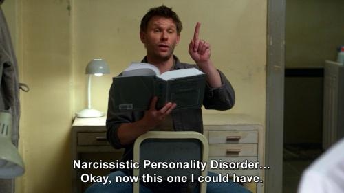 Supernatural - Narcissistic Personality Disorder