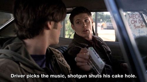 Supernatural - Driver picks the music