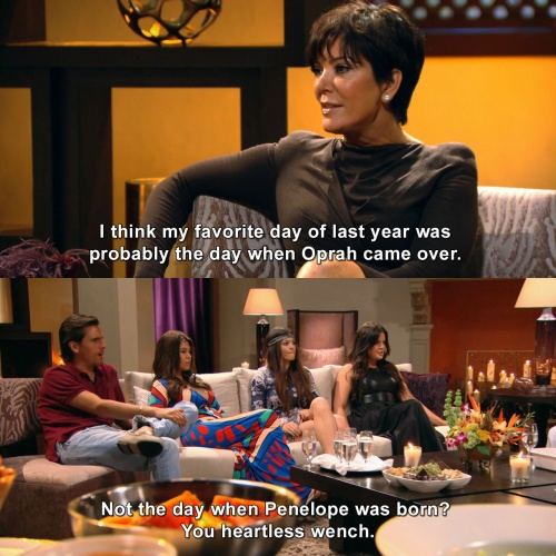 Keeping Up with the Kardashians - Probably Oprah