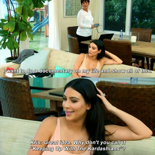 Keeping Up with the Kardashians - Keeping Up With The Kardashians?