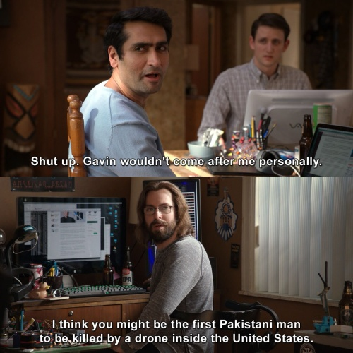 Silicon Valley - He wouldn't come after me personally