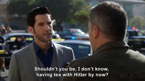 Lucifer - Having tea with Hitler