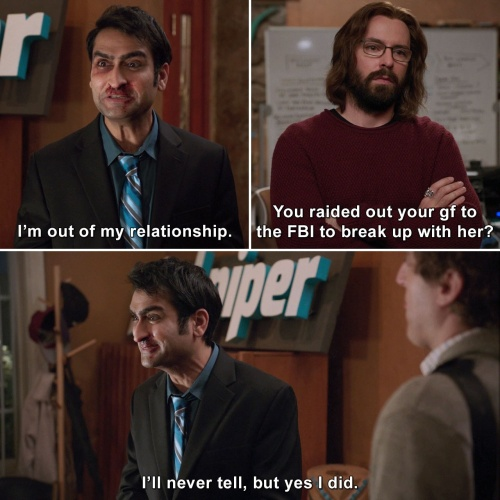 Silicon Valley - I'm out of my relationship