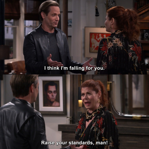 Will and Grace - I think I'm falling for you