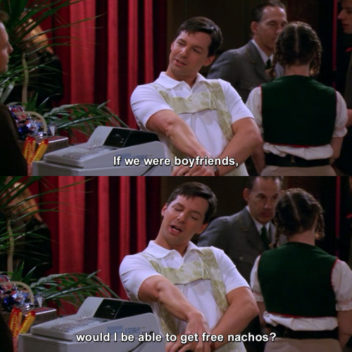 Will and Grace - If we were boyfriends