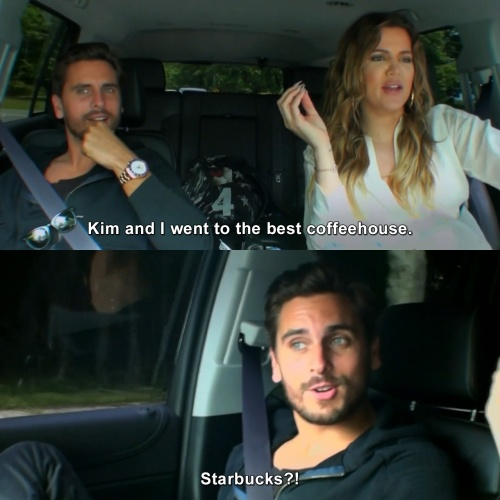 Keeping Up with the Kardashians - Kim and I went to the best coffeehouse