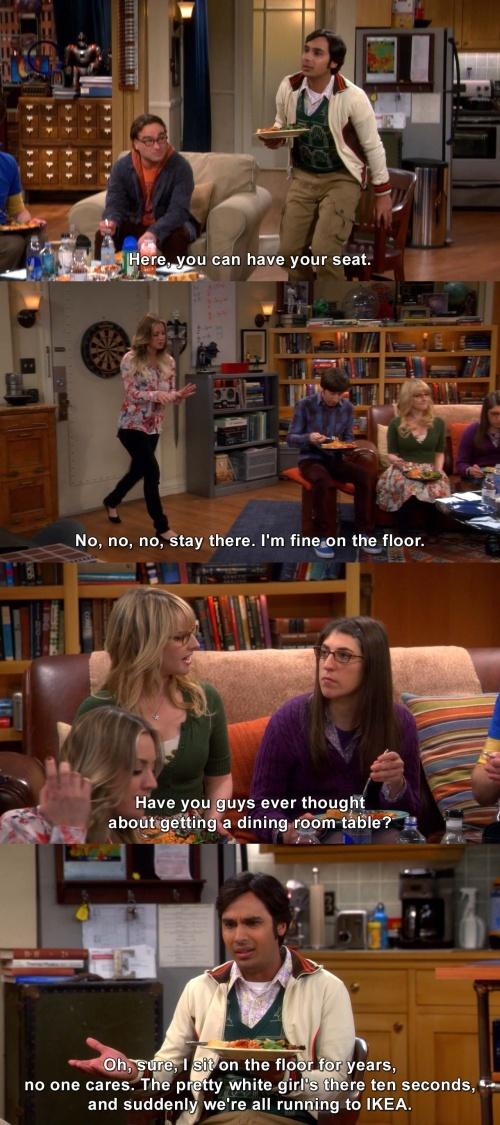 The Big Bang Theory - No one cares