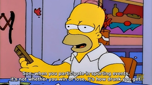 The Simpsons - Wise words from Homer