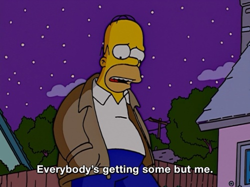 The Simpsons - Everyone but me