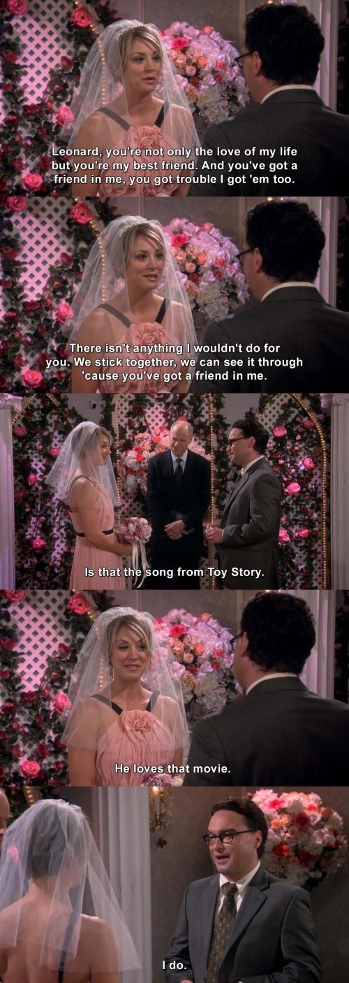 The Big Bang Theory - We stick together