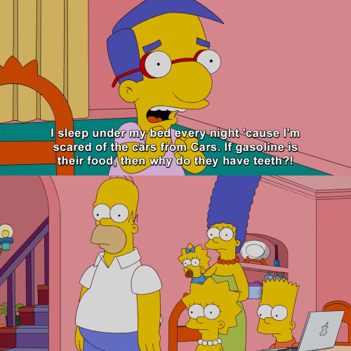 The Simpsons - Why do they?